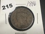 1846 Large Cent