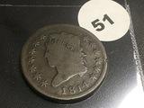 1814 Large Cent Plain 4