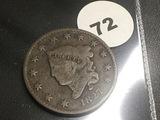 1827 Large Cent
