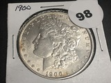 1900 Morgan Dollar