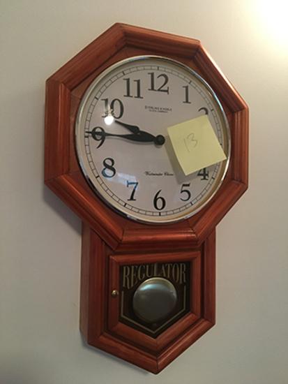 Regulator, Quartz Clock