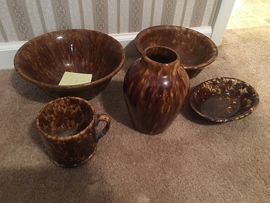 5pc as Shown (Bowls have Chips)