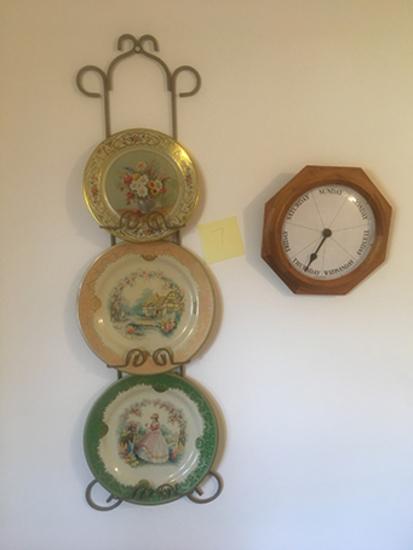 Tin Plates and Wall Racks