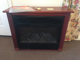 Heat Surge, 32 in Wide, 26 in Tall Amish Crafted Cabinet