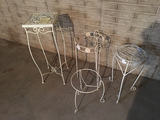 4 Plant Stands