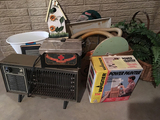 Heater, Wagner Painter, Barber Sterilizer and Misc