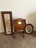 Sewing Stand and Pictures