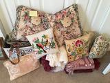 Pillows, Blankets