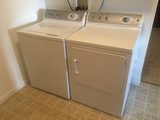 GE Washer and Electric Clothes Dryer (Sells as Set)
