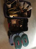 5 Totes Electrical and Misc