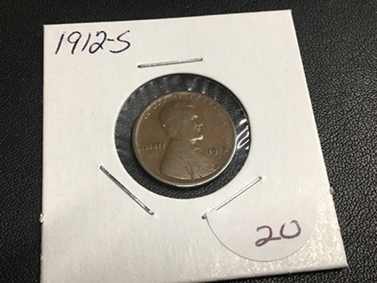 1912-S Lincoln Cent