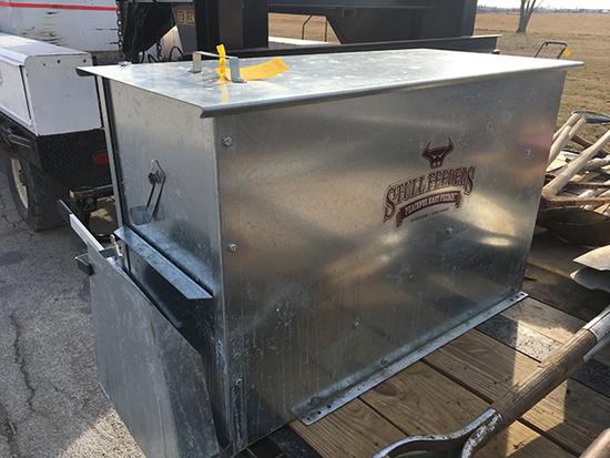 New Stull 200 lb. ATV or UTV feeder with mounting kit