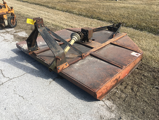 3 pt. 7 ft. Rotary Cutter with Land Wheel (Consigned by Louise and the late Bill Bash)