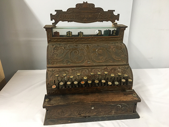 PICK UP ONLY -  Michigan Vintage Cash Register