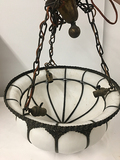 PICK UP ONLY -  21 in Hanging Light, 2 Socket, Good Condition