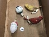 (4) Vintage Bulbs