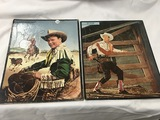 (2) Roy Rogers picture puzzles by Whitman