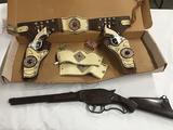 Westmark Inc. Maverich Gun set with original box as shown