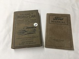Model T Ford Car 1920 Edition and Ford Manual