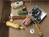 Needle Cases, Thread Holder and Thimbles