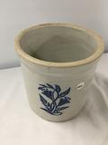 1 gallon crock with stencil