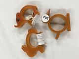 (3) Bakelite napkin holders