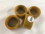 (4) Bakelite napkin holders