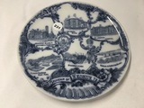 8 in. Keokuk, IA souvenir plate
