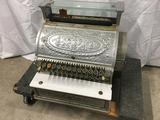PICK UP ONLY -  National 349 Vintage Cash Register