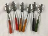 (6) Fiesta Spoons