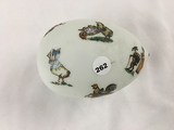6 in. glass Easter egg