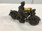Cast Iron Patrol Motorcycle