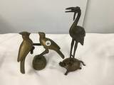 (2) Brass pieces