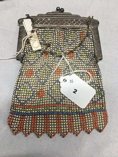 Whiting & Davis chain purse