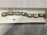 Mother of Pearl Bracelet, marked 800