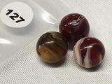 (3) 5/8  i.n Marbles
