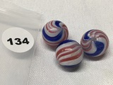 (3) 5/8 in. Marbles