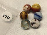(6) 5/8 in. Marbles