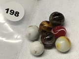 (7) 1/2 in. Marbles