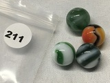 (4) 5/8 in. Marbles