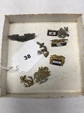 Military Pin and Charms