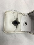 Onyx Sterling Size 6 Ring