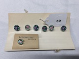 7 Paperweight Buttons
