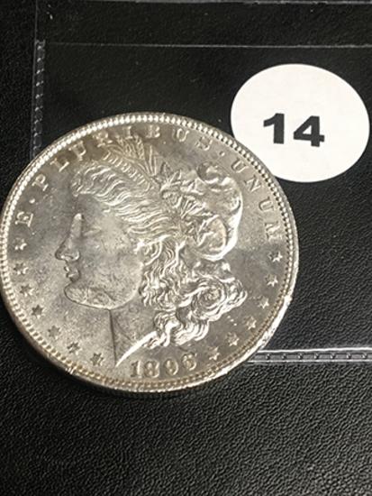 1896 Morgan Dollar P/L