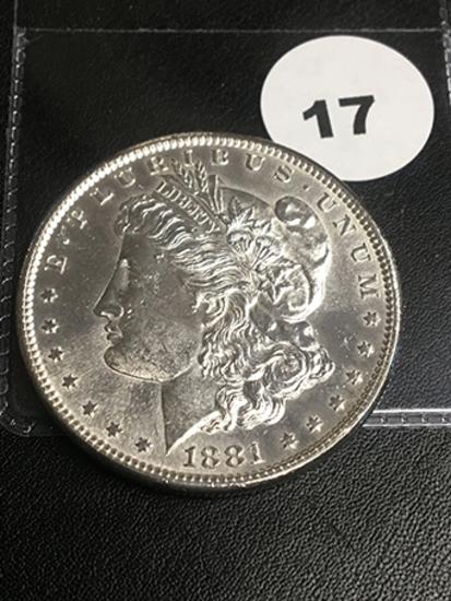 1881-S Morgan Dollar P/L