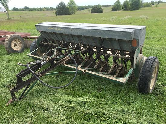 JD 14x7 Model B Drill w/ Grass Seed