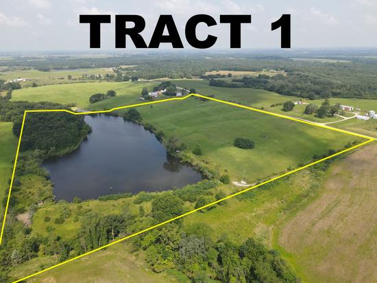 Tract 1 - 40.9 Surveyed Acres