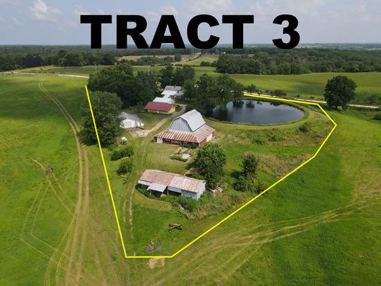 Tract 3 - 5.2 Surveyed Acres