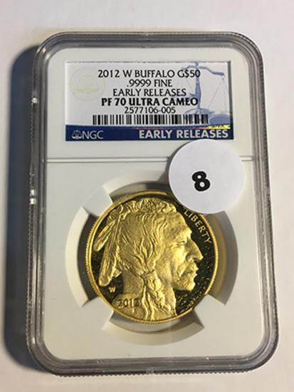 2012-W Buffalo $50 Gold NGC Early Release PF70 Ultra Cameo