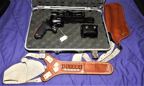 Taurus Raging Bull 44 Mag Revolver with scope